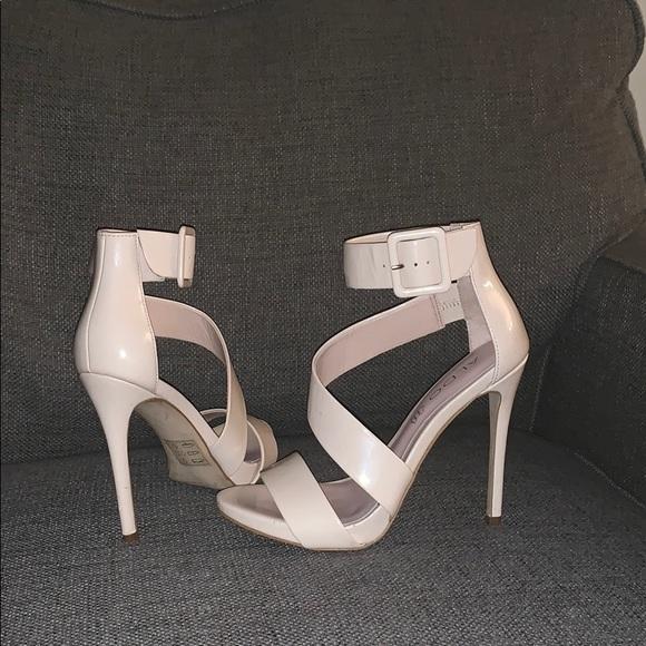 Aldo Shoes - Aldo's tan leather heels
